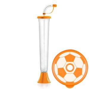 Flat ball cup 400 ml Orange