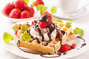Waffeln und Crepes Catering
