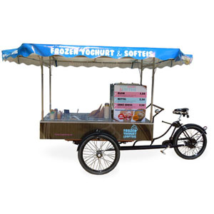 Frozen-Yogurt- und Softeis-Bike