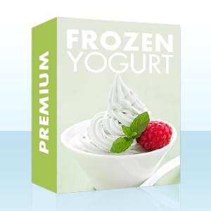 Frozen Yogurt Pulver