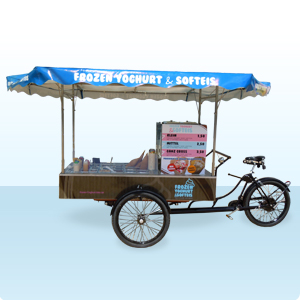 Verkaufsmobile für Softeis und Frozen Yogurt