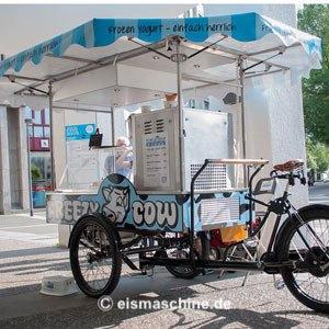gebrauchte Softeismaschine Frozen Yogurt Bike