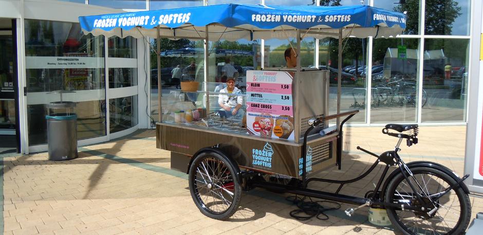 Das Frozen Yogurt Bike