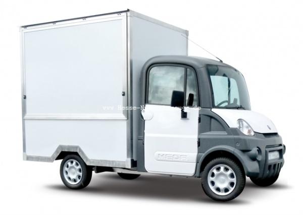 Mega Multitruck mit Verkaufsaufbau