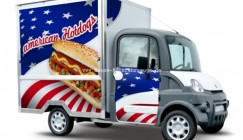 Mega Multitruck für den Hot-Dog-Verkauf