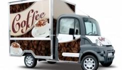 Mega Multitruck für den Kaffee-Verkauf