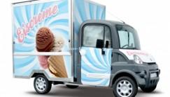 Mega Multitruck für den Eis-Verkauf
