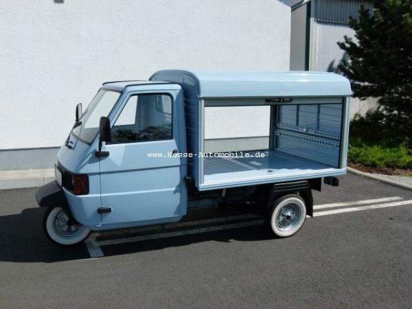 Paggio Ape Verkaufsmobil